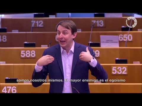 Javi López al  Parlament Europeu en el debat sobre l'acció de la UE per combatre la Covid19