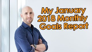 My January 2018 Monthly Goals Report