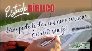 Estudo Bíblico com Rev. Vagner Ferreira (Hebreus 3) - 17/04/2020