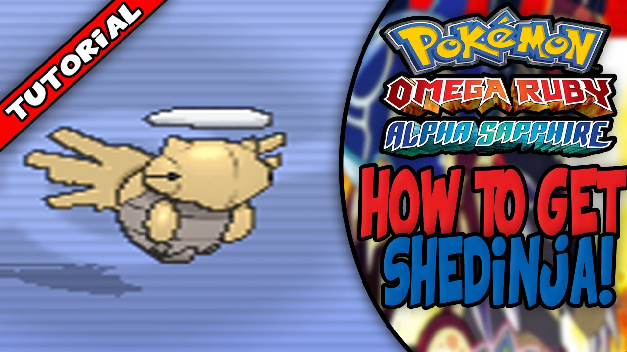 How To Get Shedinja On Pokemon Omega Ruby Alpha Sapphire