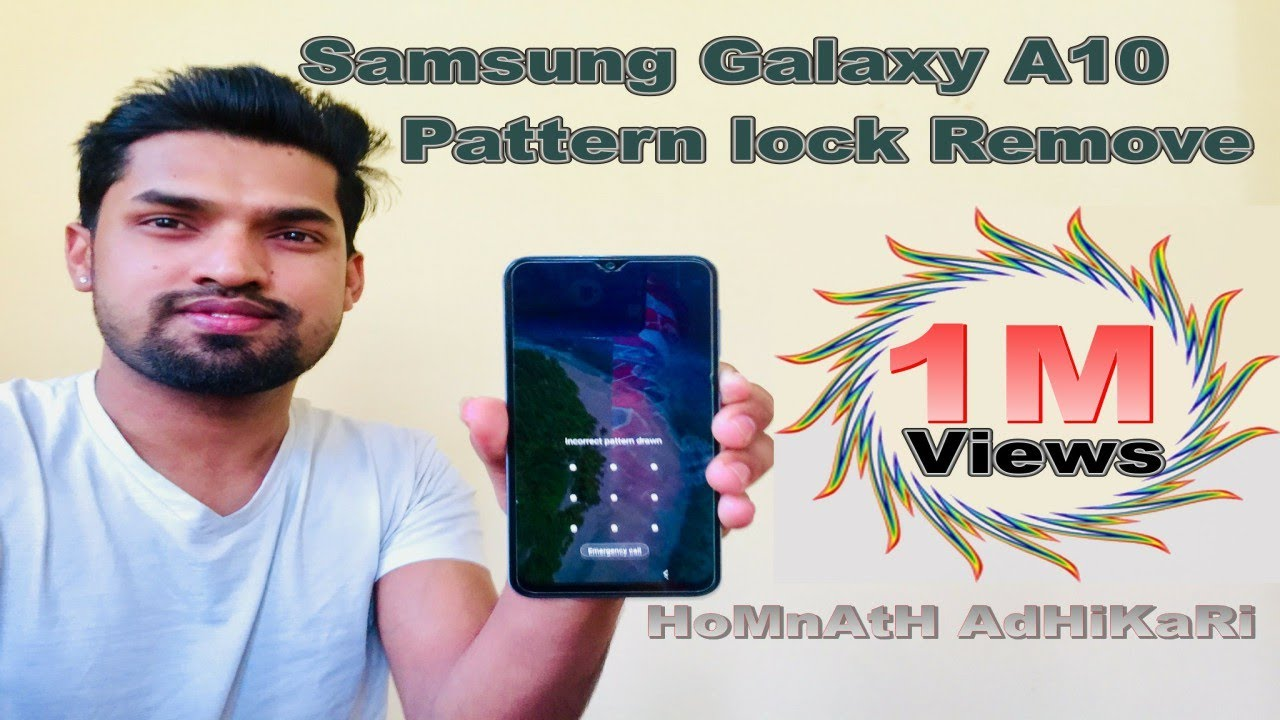 Samsung Galaxy A10 Pattern locl remove | Hard Reset Samsung A10 | Reset Samsung A10
