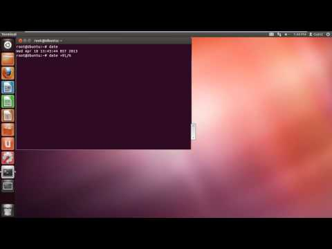 How to Use Unix Date Command
