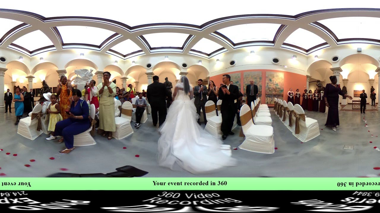 Vr 360 Wedding Ceremony: The Museum Of Biblical Art, Dallas TX