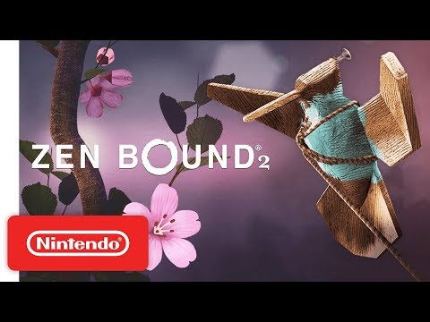 Zen Bound 2 Launch Trailer - Nintendo Switch