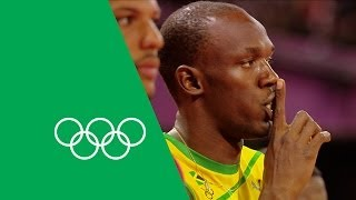 Usain Bolt Talks London 2012, 100m, 200m & Relay Gold   Olympic Rewind