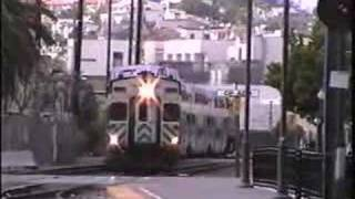 Coaster, Trolley Action At San Diego Station