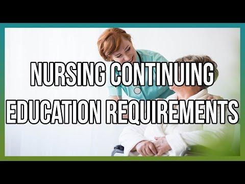 Nursing Continuing Education Requirements