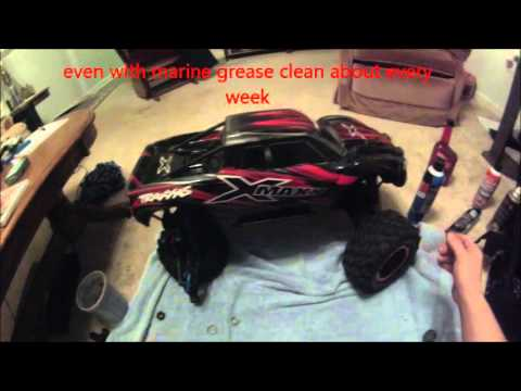 How to clean and relubricate X-maxx and other RC bearings
