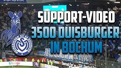 Stimmungsvideo: 3500 Duisburger in Bochum (VfL Bochum - MSV Duisburg 0:2, 23.01.18)