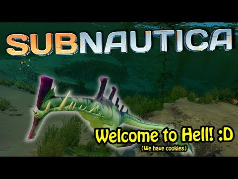 JUST THE TIP! - Dipping our toes into Subnautica | Subnautica Full Playthrough! #1