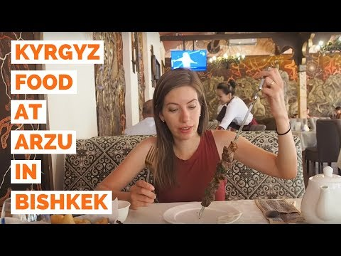 Kyrgyzstan Food | Eating our favorite Kyrgyz cuisine in Bish