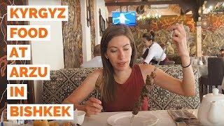 Kyrgyzstan Food | Eating our favorite Kyrgyz cuisine in Bishkek, Kyrgyzstan