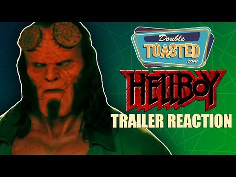 HELLBOY OFFICIAL MOVIE TRAILER #1 REACTION - Double Toasted Reviews