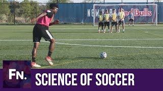 What Does a Soccer Player See?   Eye Tracking