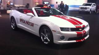 Chevrolet Camaro SS Convertible Indy 500 2011 Videos