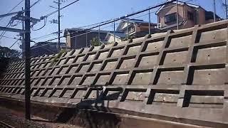 特急くろしお13号 天王寺~和歌山車窓
