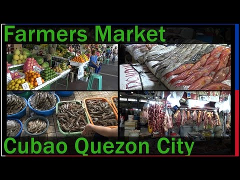 Farmers Market, Cubao Quezon City