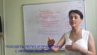 ПОХУДЕТЬ:КАЛОРИИ И БАДы. ТРИ ОСНОВНЫХ МОМЕНТА. Похудеть легко с Ириной Лещенко.