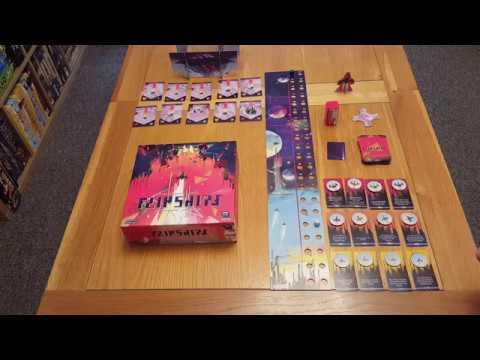 JDPRGS007 Games cooperative FLIPSHIPS Jeu de Plateau