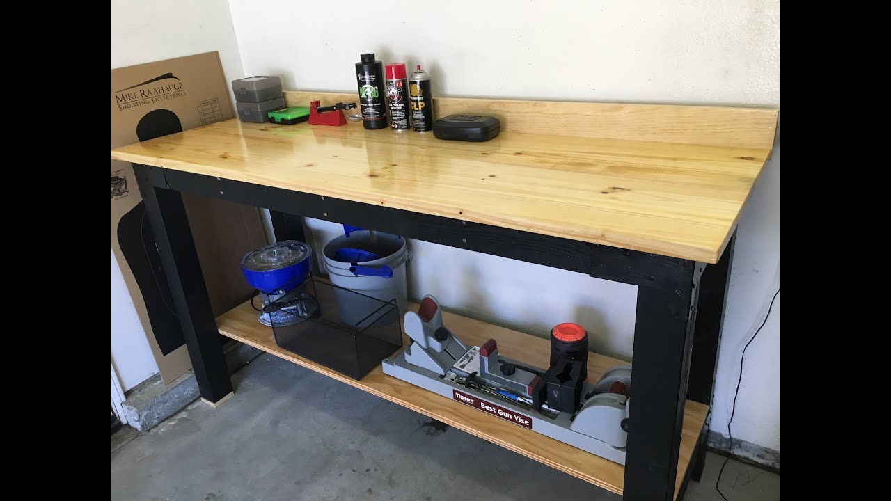 Reloading Bench Work Bench Build Time Lapse Youtube