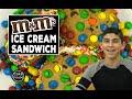 M&M Chocolate Chip Cookie Ice Cream Sandwich - Cake Boss Kids Style!