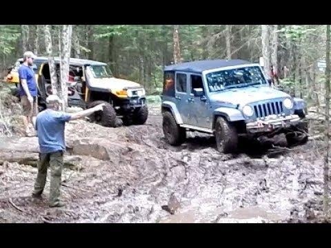 Jeep Rubicon VS Toyota FJ Cruiser   Of Course It Is NOT FAIR!