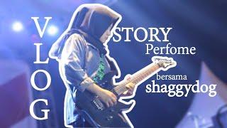 VLOG - Satu panggung dengan Shaggydog, solo gitar + MC kepo..