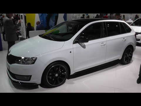 Skoda Rapid Spaceback 2015 In Detail Review Walkaround Interior