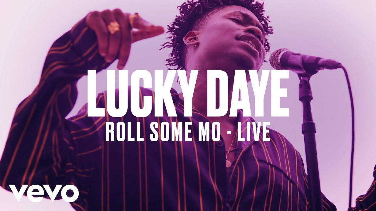 Lucky Daye — «Roll Some Mo» (Live) | Vevo DSCVR