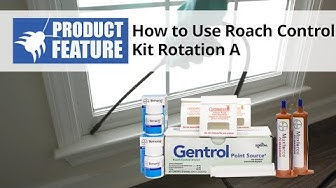 How to Kill Roaches with the Roach Control Kit Rotation A   DoMyOwn.com