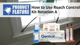 How to Kill Roaches with the Roach Control Kit Rotation A