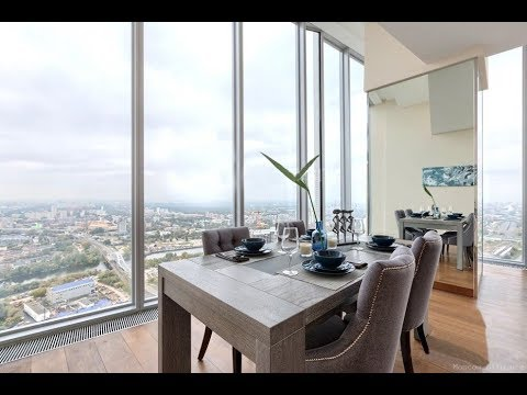 Снять квартиру в Москва сити. Обзор трёхкомнатного апартамента на 45 этаже
