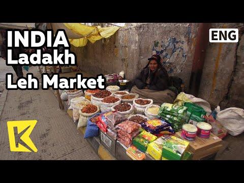 【K】India Travel-Ladakh[인도 여행-라다크]라다크에서 유일한 장터, 레 시장/Leh Market/Dried Abricot/Food/Fruit
