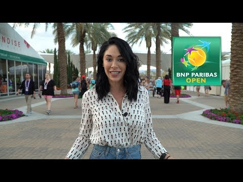 A day at the BNP Paribas Open Indian Wells 2018!