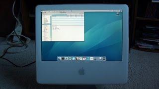 Installing an SSD in an iMac G5