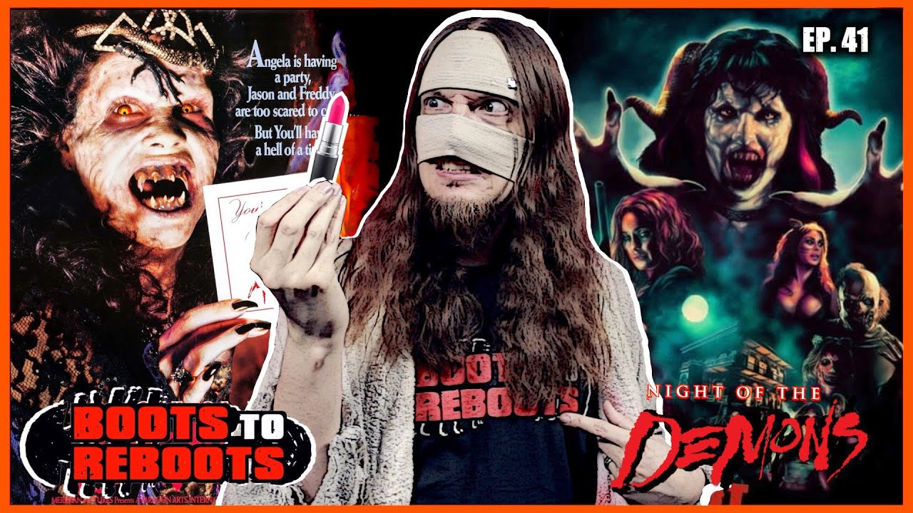 Download NIGHT OF THE DEMONS (2009) Remake Movie Review | Boots To Reboots