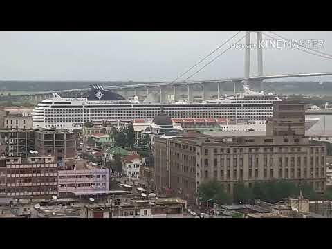 Sea line cruiser at Maputo Port (23rd December 2018)