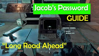 Fallout 4 - Jacobs Password Unlocking the MedTek terminal FIXING THE GLITCH ISSUE