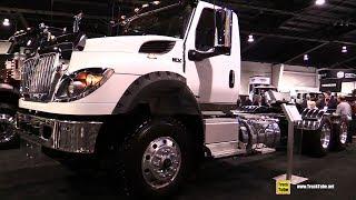 2018 International HV 613 Truck - Exterior and Interior Walkaround - 2018 Truckworld Toronto