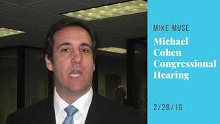 Political News: Michael Cohen Congressional Hearing | Sway's Universe