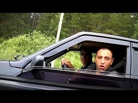 Смотреть Быдланы на дороге наложили в штаны! Мужик качает права,  ну-ну) онлайн