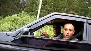 Быдланы на дороге наложили в штаны Мужик качает права  ну ну