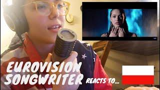 Eurovision 2020 Songwriter Reacts to: Poland | Alicja - Empire