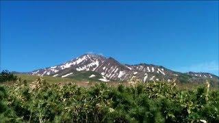 利尻礼文サロベツ国立公園「見返台園地展望台」(Observation deck of Mt. Rishiri)