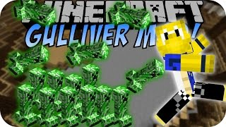 Minecraft MINI CREEPER (Gulliver Mod) [Deutsch]