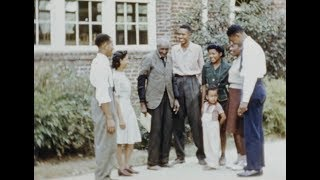 George Washington Carver | Rare Color Footage From 1937 Silent