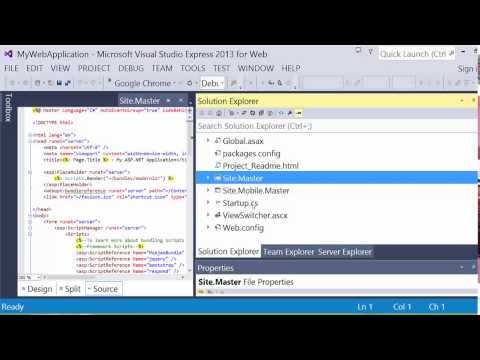 Introduction to ASP.NET Web Forms With C#