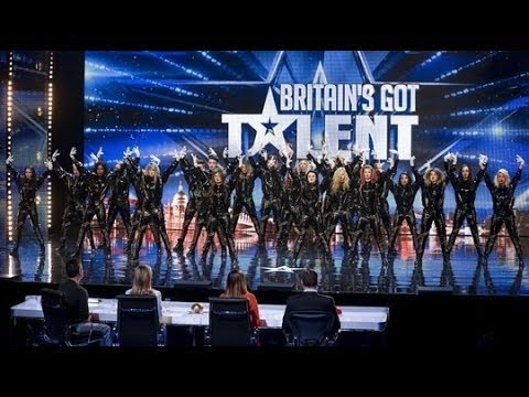 Видео, Britains Got Talent S08E05 The Addict Initiatives Refreshingly Evil Dance Troupe Silent Hill Act