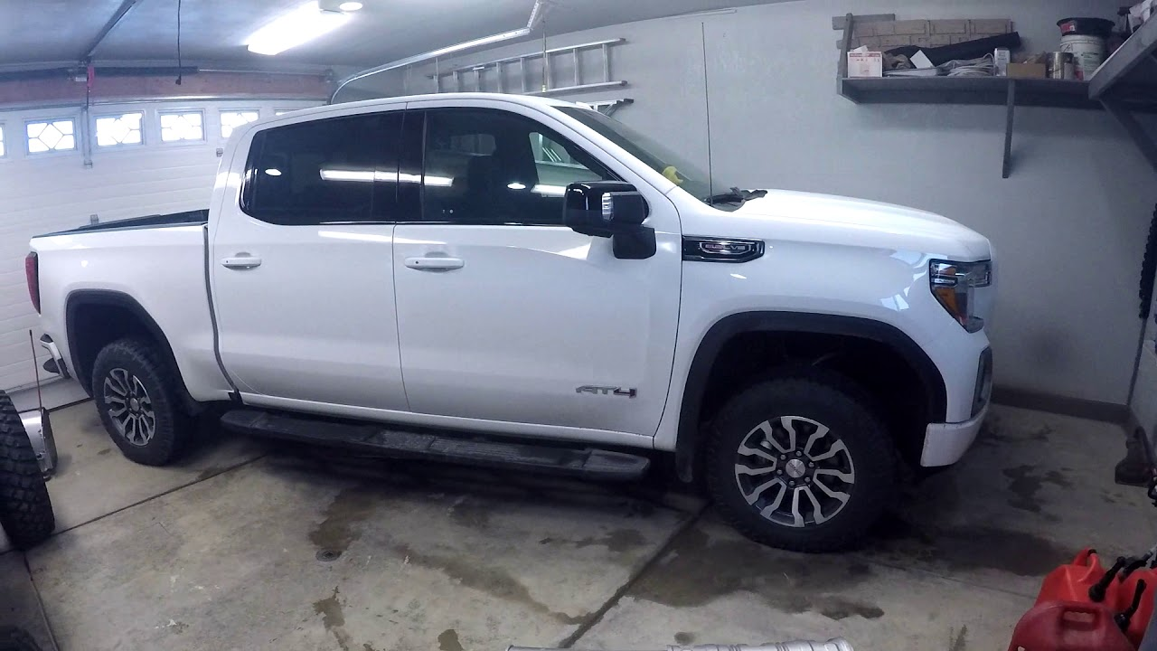 2019 Gmc Sierra At4 Exhaust Tour Cheap Modification Youtube