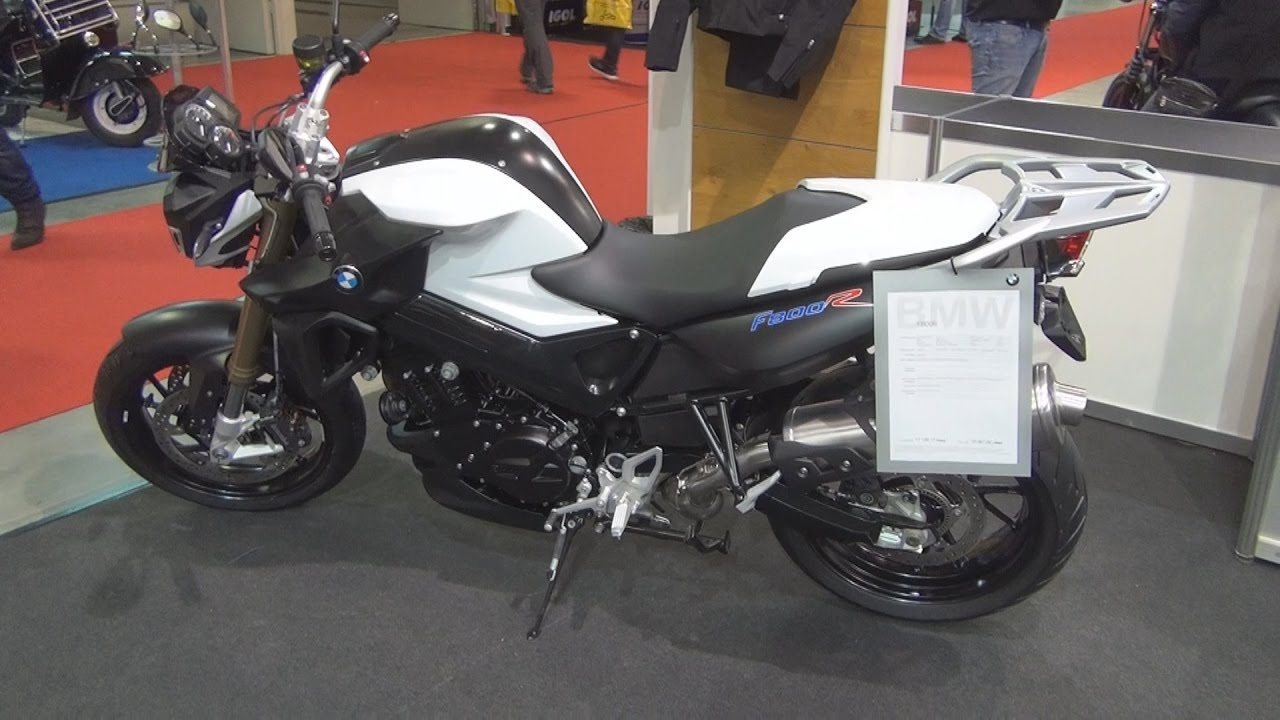 BMW Motorrad F800R 2015 Exterior And Interior